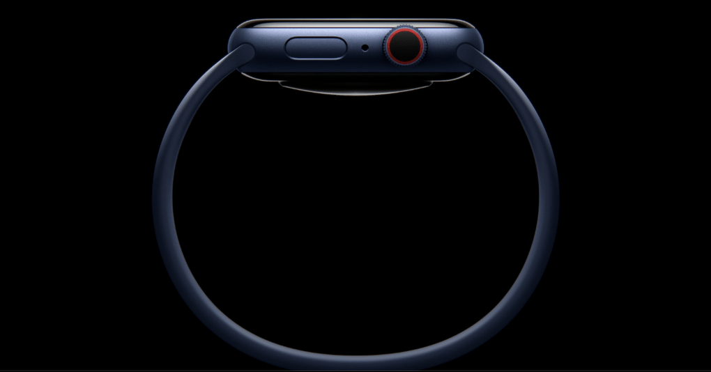 Apple is introducing a new band called the Solo Loop. No clasps or anything; just a silicone band in seven colours.