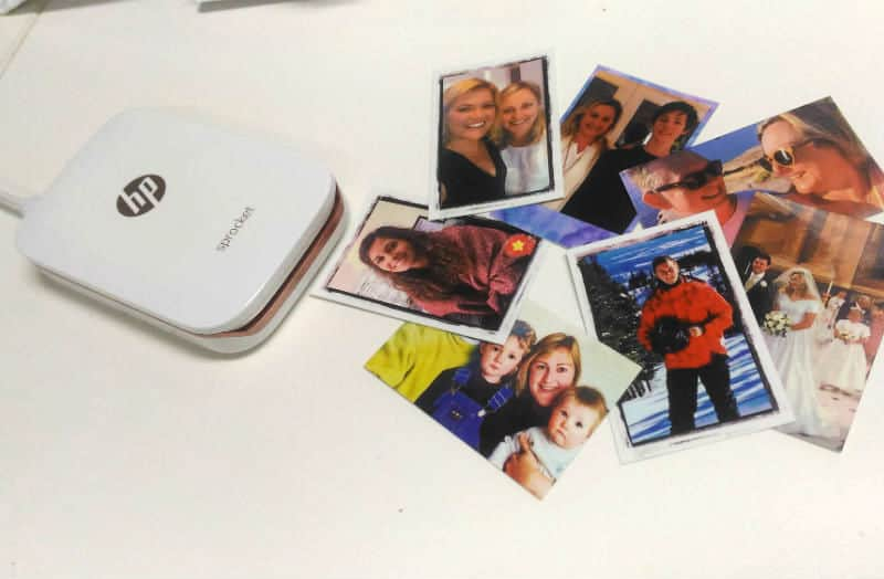 How To Print Out Your Photos With The Portable HP Sprocket Printer